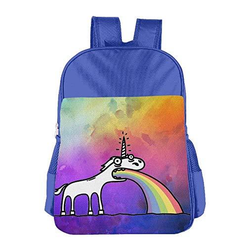 Always Be A Unicorn Children Schoolbag School Bag School Bagpack Bag For 4-15 Years Old Pink S1