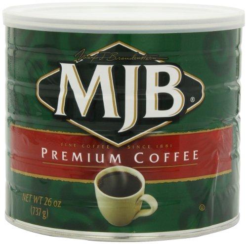 MJB Coffee, Premium Ground, 26 Ounce