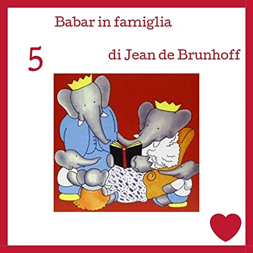 Babar in famiglia audiobook cover art