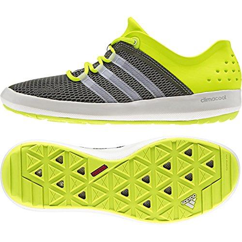 adidas Men's Climacool Boat Pure Shoe Base Green/Chalk White/Semi ...