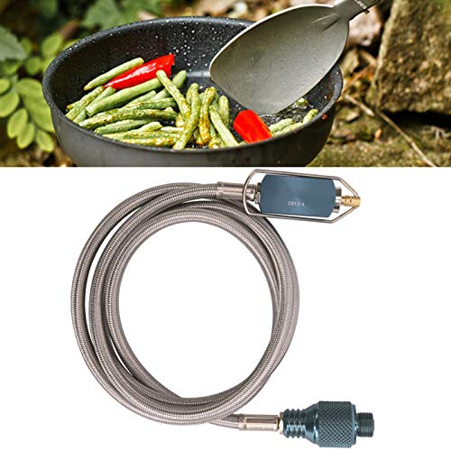 Adaptador de tanque de gas para camping Recarga de gas para estufa, para estufa de camping, para pistola tipo bayoneta, horno tipo caja