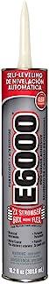 E6000 222011 High Viscosity Adhesive, 10.2 fl oz Cartridge