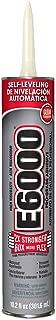 E-6000  232021 Hi Viscocity 10.2-Ounce Cartridge Adhesive