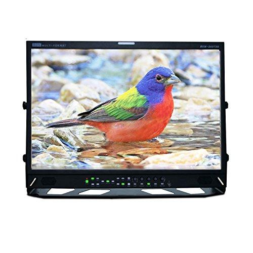 "Ikan 24"" 3G/HD/SD-SDI & HDMI 12-Bit LCD Studio Broadcast & Production Monitor with Timecode (Bon) (BXM-243T3G) (Certified Refurbished) -  BXM-243T3G-RFB"