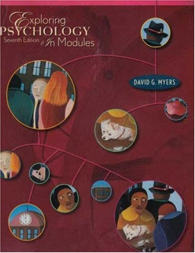 Exploring Psychology in Modules 7E (Paper) & Study Guide with new unopened eBook