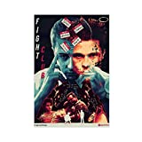 Filmposter Fight Club Action Thriller Edward Norton Star