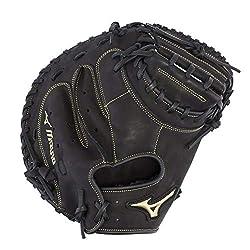 commercial Mizuno GXC50PB3MVP Prime Baseball Catcher Gloves, 34inch Left Hand baseball catchers mitt