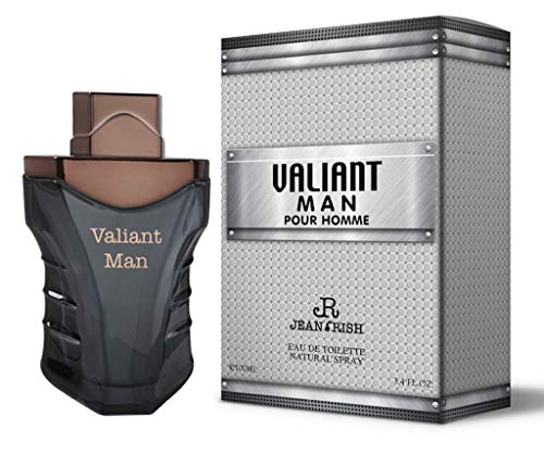 VALIANT MAN by Jean Rish 3.4 Oz for MEN EDT MADE...