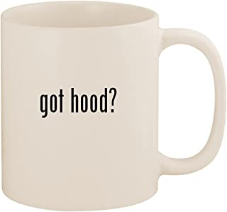 got hood? - 11oz Ceramic White Coffee Mug Cup, White