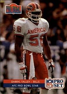 1992 Pro Set Football Card #394 Darryl Talley