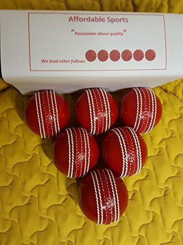 Incrediball Cricket-Trainingsbälle, Trainingshilfe für alle Spieler, 6 Stück