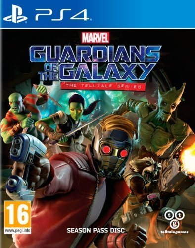 Telltale Games - Guardians of the Galaxy: The Telltale Series /PS4 (1 GAMES)