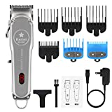 Professional Hair Clippers For Men #1996 full metal fuselage carbon steel cutter head does professional noise reduction Hair clipper