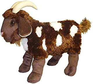 ADORE 15 Standing Mocha the Spotted Goat Plush Stuffed Animal Toy by Adore Plush Company