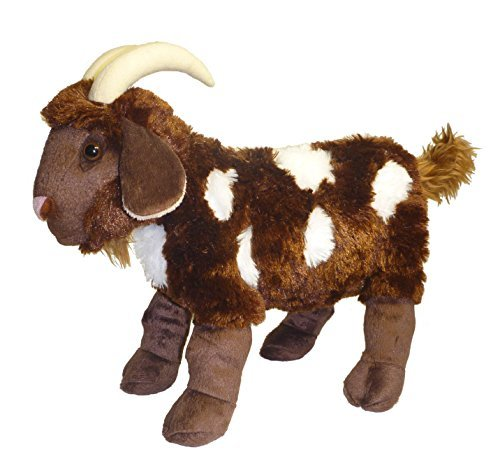 Adore 15' Standing Mocha The Spotted Goat Plush...