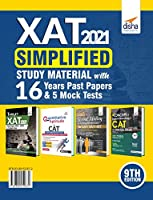 XAT 2021 Simplified Study Material with 16 Years Past Papers & 5 Mock Tests 9th Edition