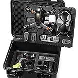 LEKUFEE Custodia Rigida Impermeabile per DJI FPV Combo e Altro DJI FPV Drone Accessori(Drone e...