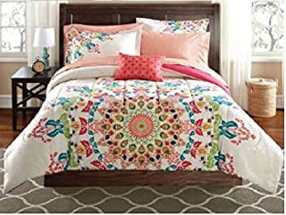 Complete Bedding Set Size: Full Mainstays Bed In A Bag 9 Piece