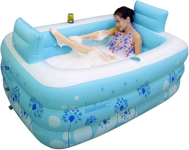 GYF Home Folding Adult Badewanne, Kinderbecken Kinderbadewanne Badewanne Babyschwimmen