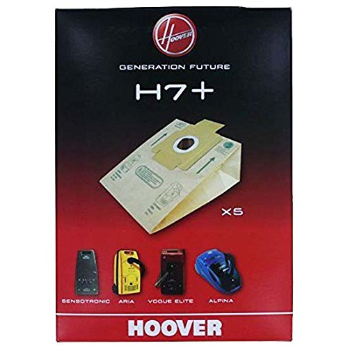 5 Sacs Staubsaugerbeutel Hoover Alpina keinen Sinn ? Compact Elite H 7