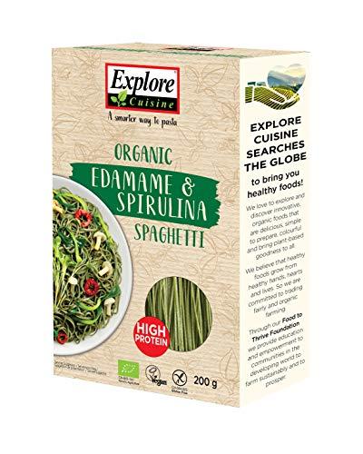 Spaghetti aus Edamame & Spirulina, BIO, vegan, glutenfrei, mit hohem Proteingehalt,...