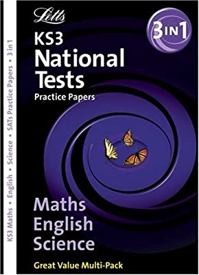 Letts Key Stage 3 Practice Test Papers ? KS3 English, Maths & Science Bind-Up National Test Practice Papers from Letts
