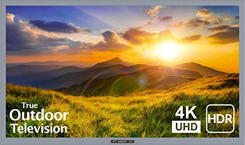 SunBrite 43-Inch Outdoor Television 4K with HDR - Signature 2 Series - for Partial Sun SB-S2-43-4K-SL (43-inch, Silver)