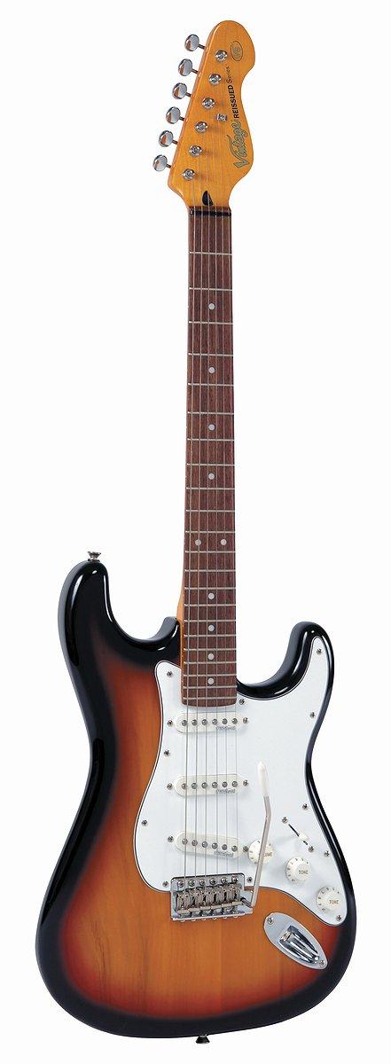 Cheap Vintage Guitars V6 Reissue Electric Guitar - Sunset Sunburst Black Friday & Cyber Monday 2019