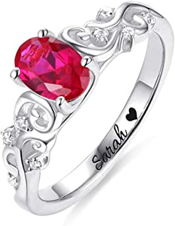 Best silver necklace ring Reviews