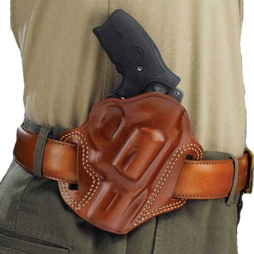 Galco Combat Master Belt Holster for 1911 3-Inch Colt, Kimber, para, Springfield (Tan, Right-Hand)