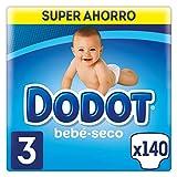 foto Dodot Bebé-Seco Pañales Talla 3, 140 Pañales, con Canales de Aire