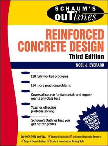 Schaum's Outline of Reinforced Concrete Design