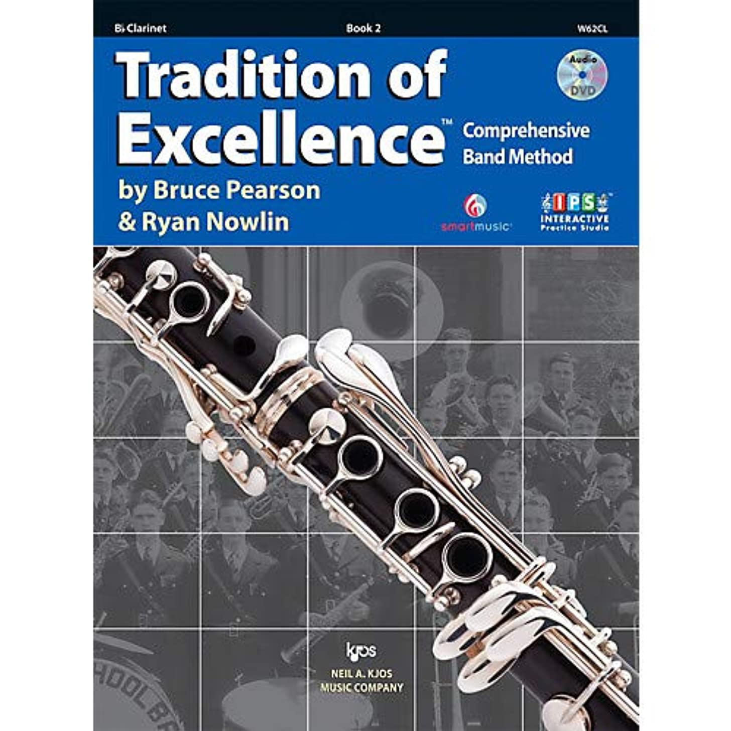 Tradition Of Excellence Book 2 for Clarinet Pack of 2