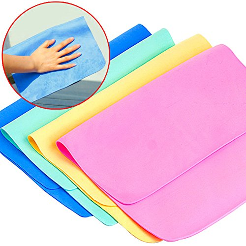 1 stuk multifunctionele handdoek Deerskin Super absorberend, sterke intensiteit, voor keuken, handdoeken en ramen, kleur willekeurig
