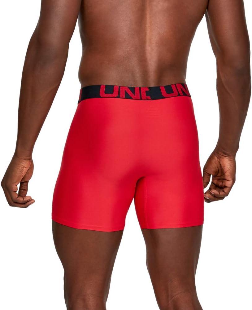 Under Armour Mens Tech 6-inch Boxerjock 2-Pack Underwear