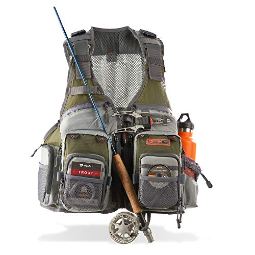 Anglatech Fly Fishing Vest Pack for Trout...