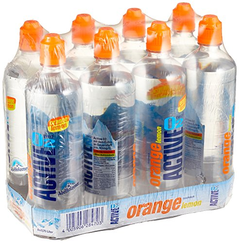 Active O2 Orange Lemon Einweg, (8 x 750 ml)