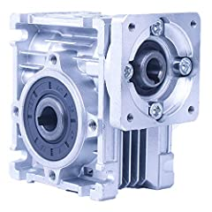 "Input Power: 0.06KW~0.18KW;Out speed:18~240 rpm/min. Input Bore Size:11mm, 0.43"" ;Output Bore Size:14mm, 0.55"" . Gearbox With detachable output shaft. High-quality aluminum alloy enclosure, Thermal performance, large carrying capacity. The multi-face..."
