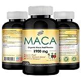 Best Maca Roots - Organic Maca Root Black, Red, Yellow 1900mg per Review