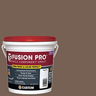 Custom 221334 FP521-2T 1G Tobacco Brown Fusion Pro Single Component Grout