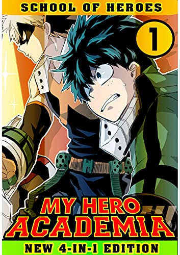School Of Heroes: Book 1 Collection - Manga My Action Hero Shonen Academia Adventure Fantasy (English Edition)