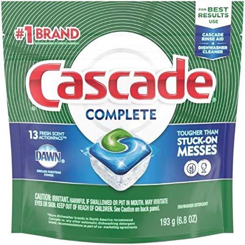 Detergente Para Lavavajillas marca Cascade