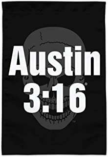 GRAPHICS & MORE WWE Stone Cold Austin 3:16 Garden Yard Flag