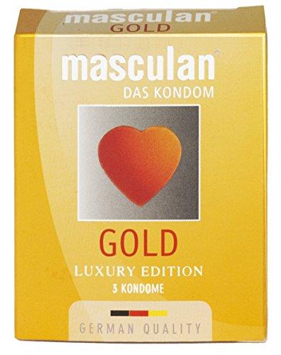 MASCULAN Gold, 1er Pack (1 x 3 Stück)