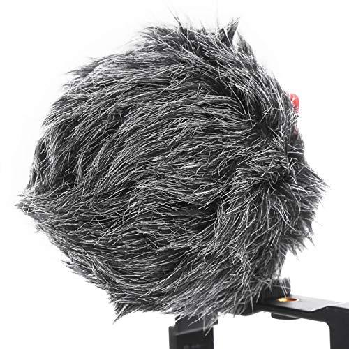 Jopwkuin Kit de micrófono de Video para teléfono Inteligente, Kit de micrófono de Video de reducción de Ruido para Youtube TIK Tok