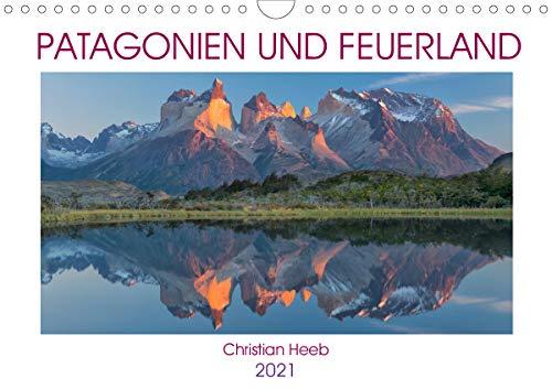 Patagonien und Feuerland (Wandkalender 2021 DIN A4 quer)