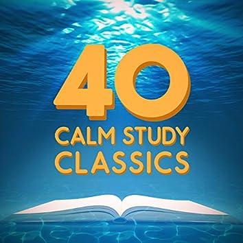 40 Calm Study Classics