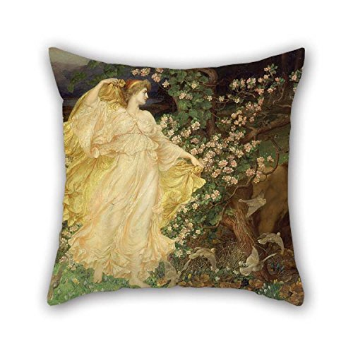olieverfschilderij William Blake Richmond - Venus en Anchises kussenslopen beste voor bank Monther Lounge vloer slaapkamer jongen vriend 18 X 18 inch / 45 bij 45 cm (beide zijden)