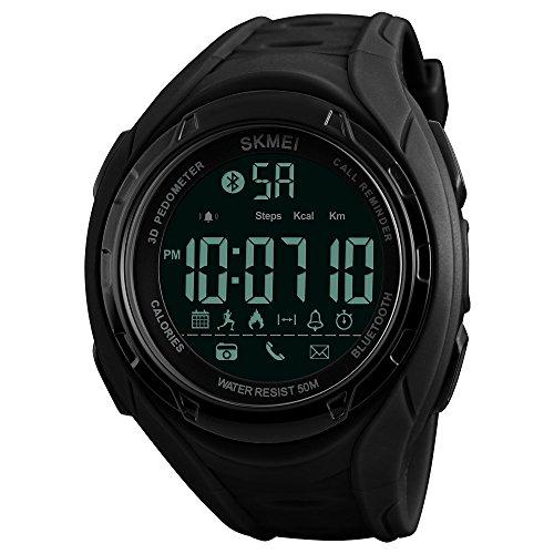 Bluetooth Smart Watch Silicone Strap Clock Men Waterproof Mens Watches Top Brand Luxury Sport Smartwatch