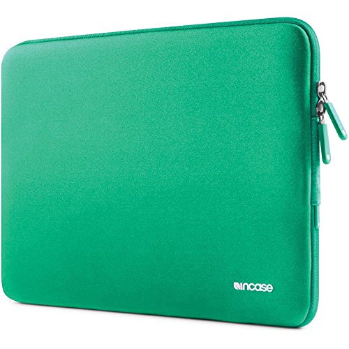 Incase 15' MacBook Pro Neoprene Laptop Sleeve Plus Soft Cushion Mac Case (Green)